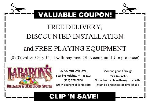 Labaron S Billiards Amp Game Room Supply